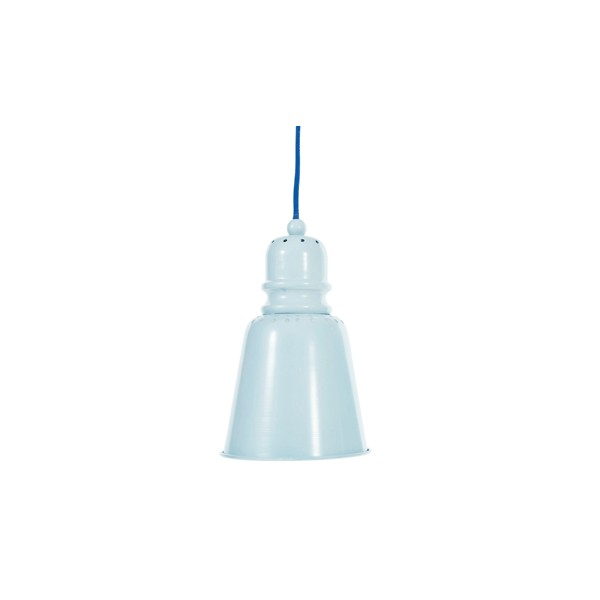 Suspension m tal bleu clair bambins d co for Suspension bleu