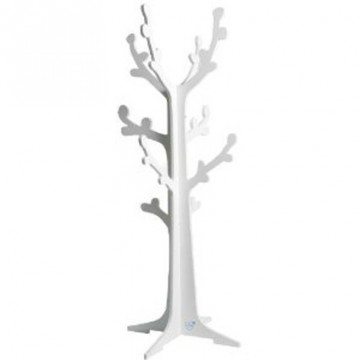 porte manteau arbre cerisier blanc enfant bambins d co. Black Bedroom Furniture Sets. Home Design Ideas