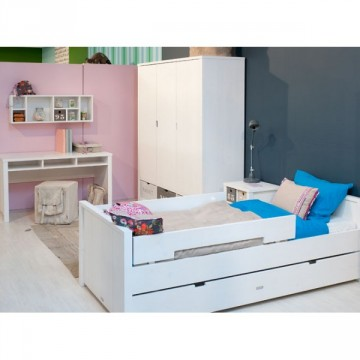Lit enfant 90x200 Basic Wood Bopita