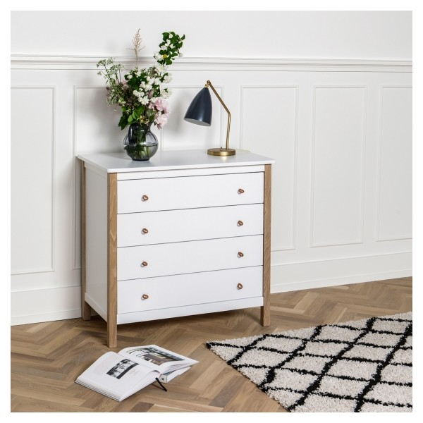 Commode b b enfant wood collection bambins d co - Commode blanche bebe ...