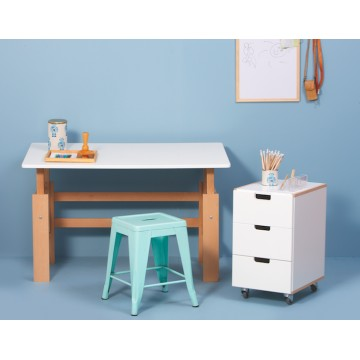 Bureau ajustable nordic nature